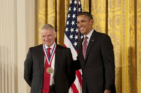 Leroy Hood receives Presidential Medal of Science