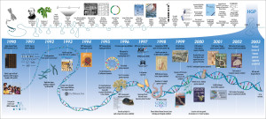 The Human Genome Project Timeline and History
